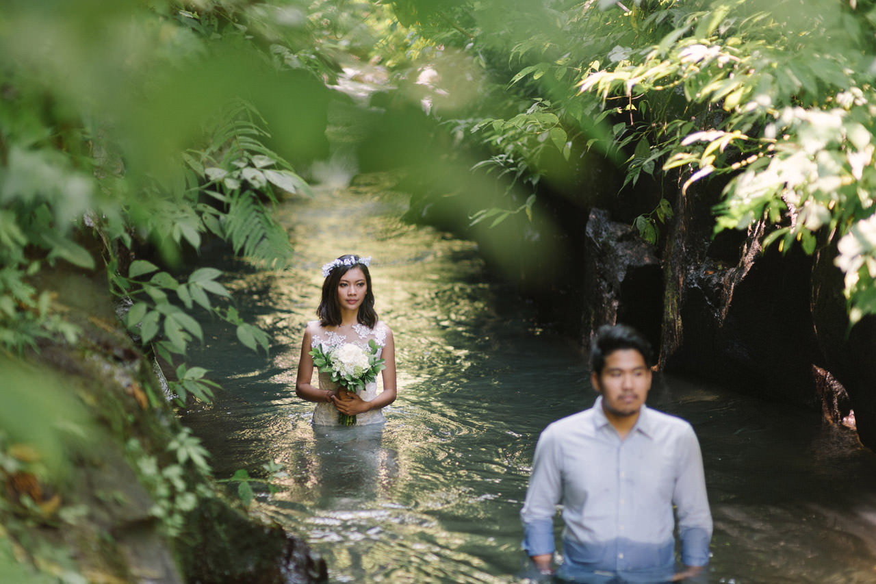 Ledy & Wungsu: Sunrise Prewedding Photography in Ubud Bali 19