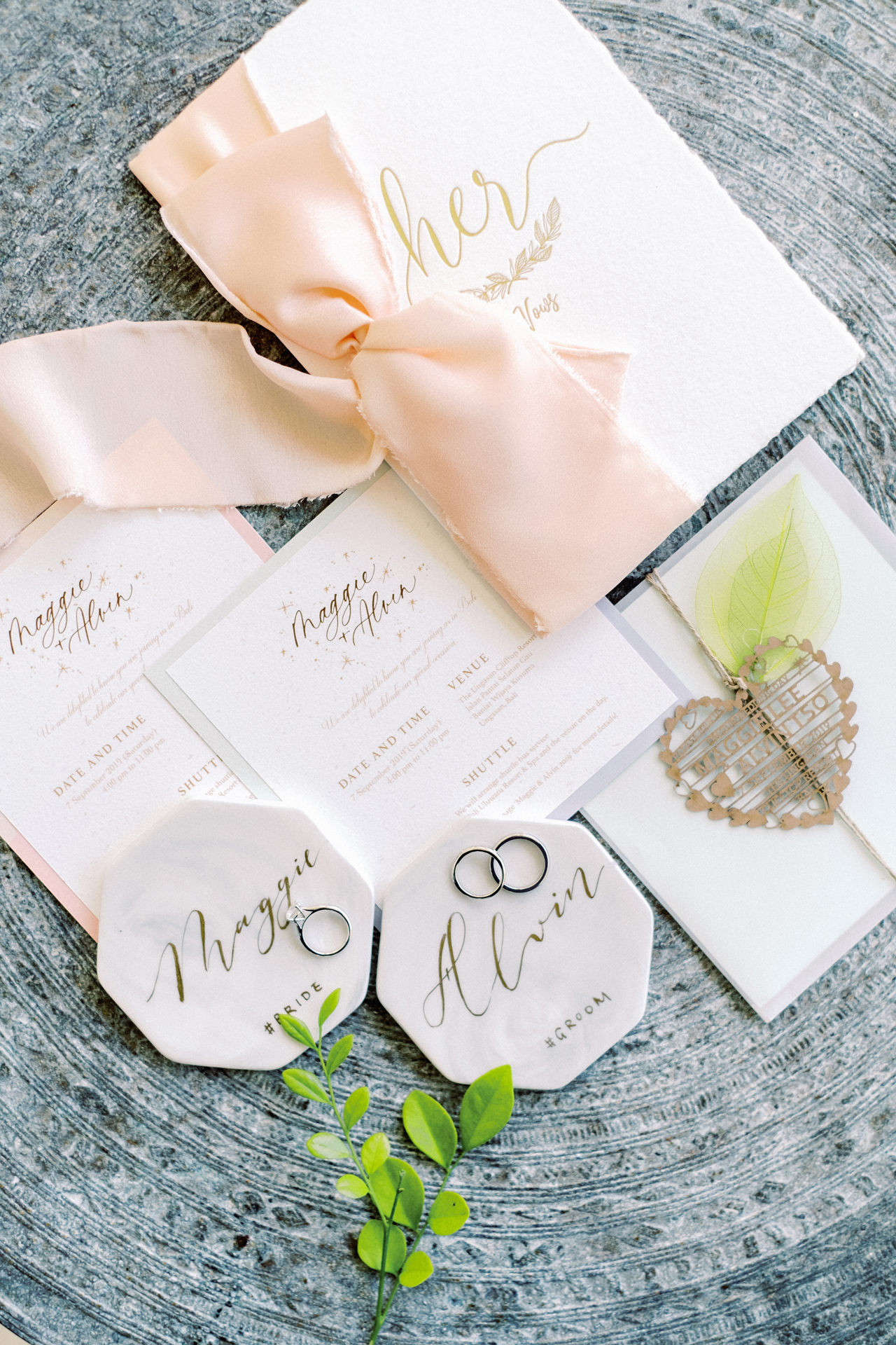 A&M: Light and Airy Wedding at The Ungasan 4