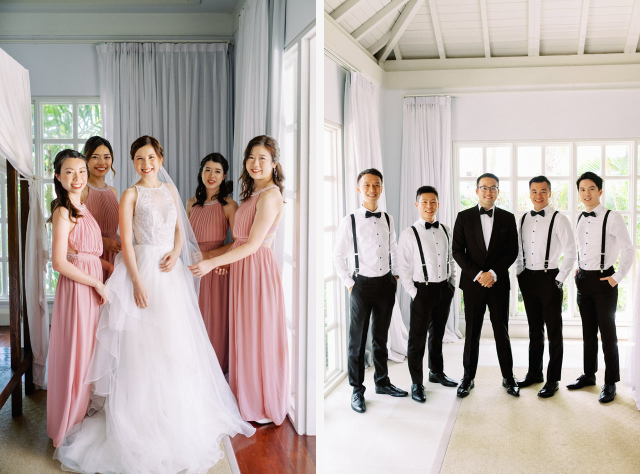 A&M: Light and Airy Wedding at The Ungasan 21