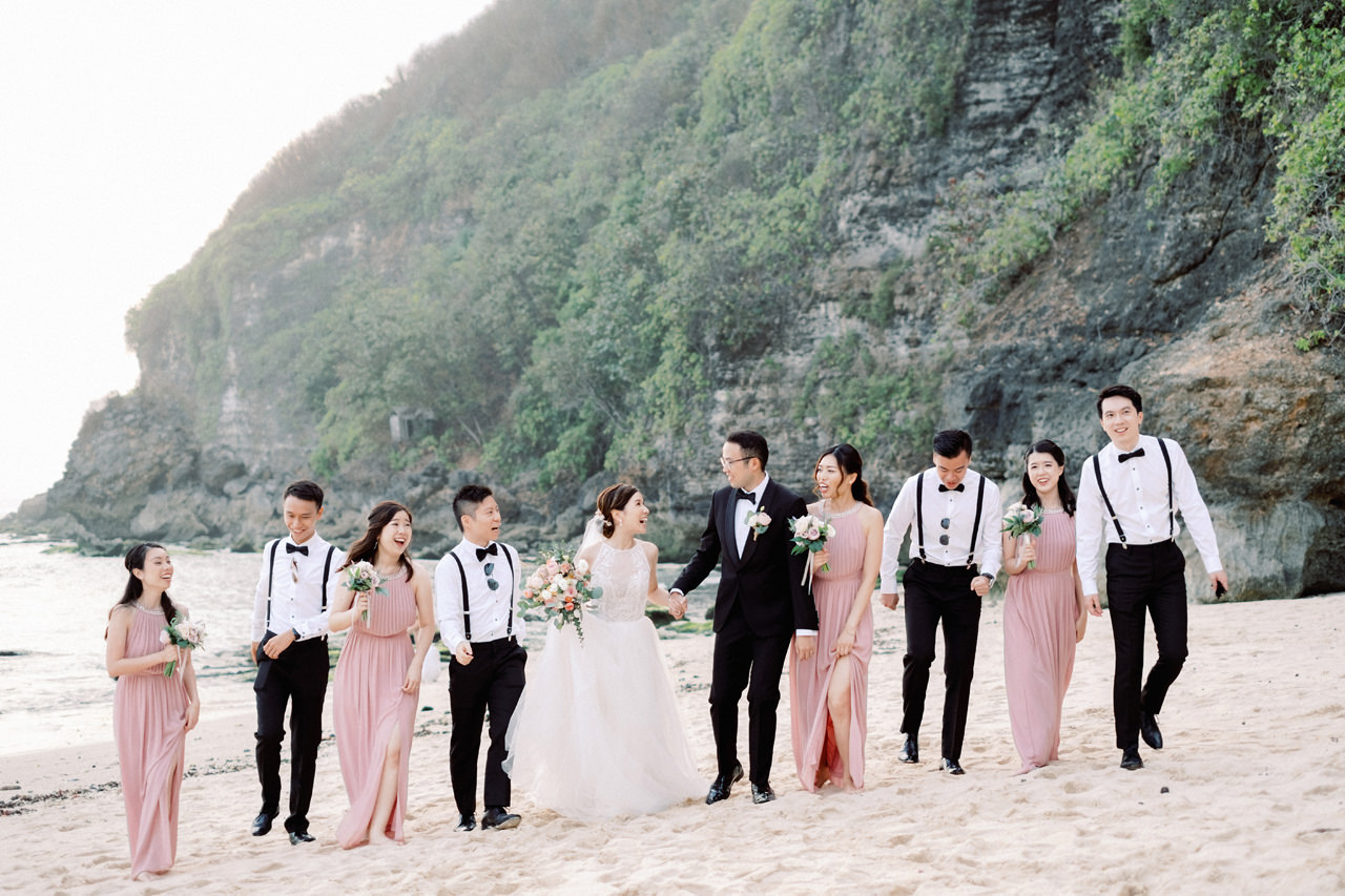 A&M: Light and Airy Wedding at The Ungasan 48