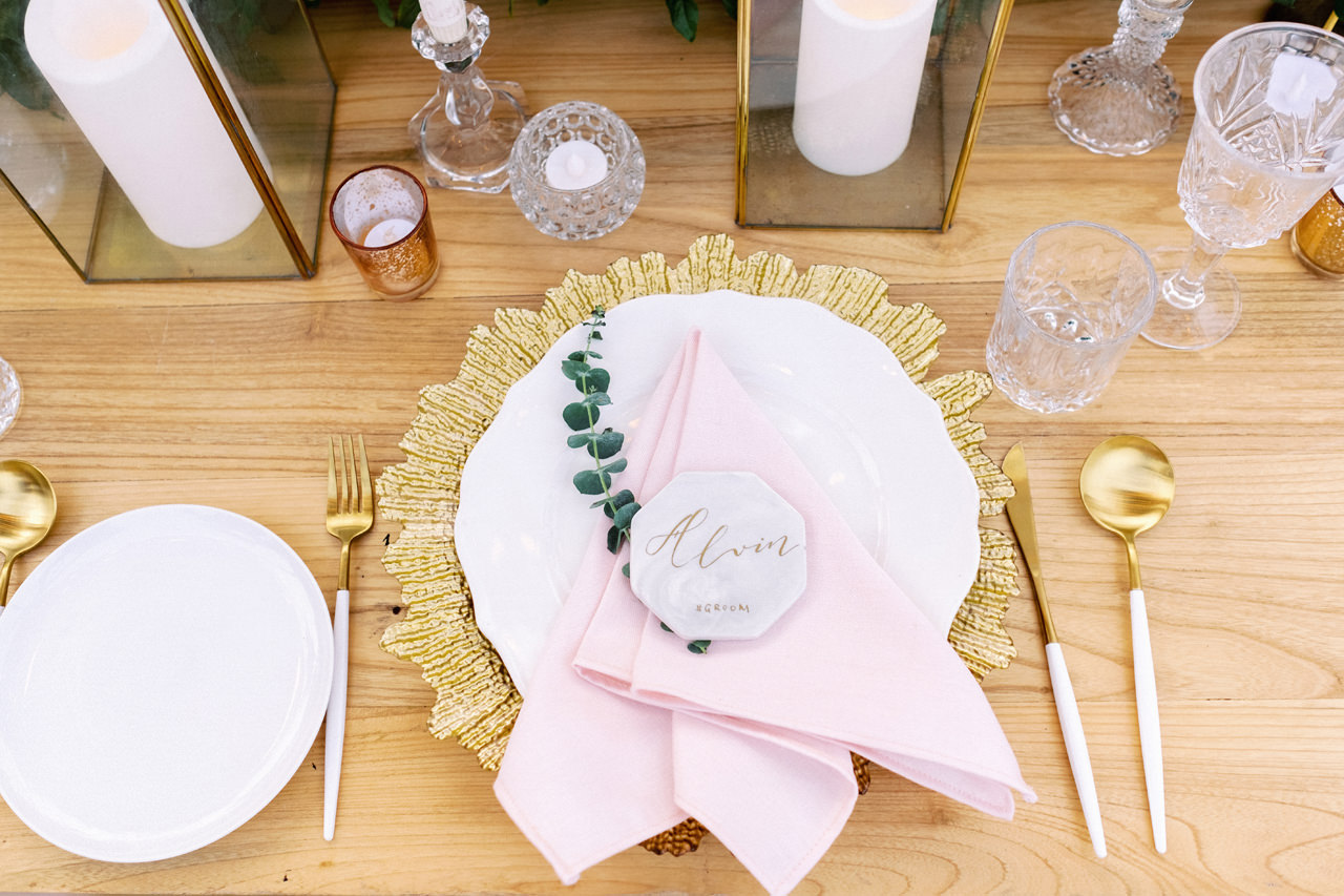 A&M: Light and Airy Wedding at The Ungasan 54