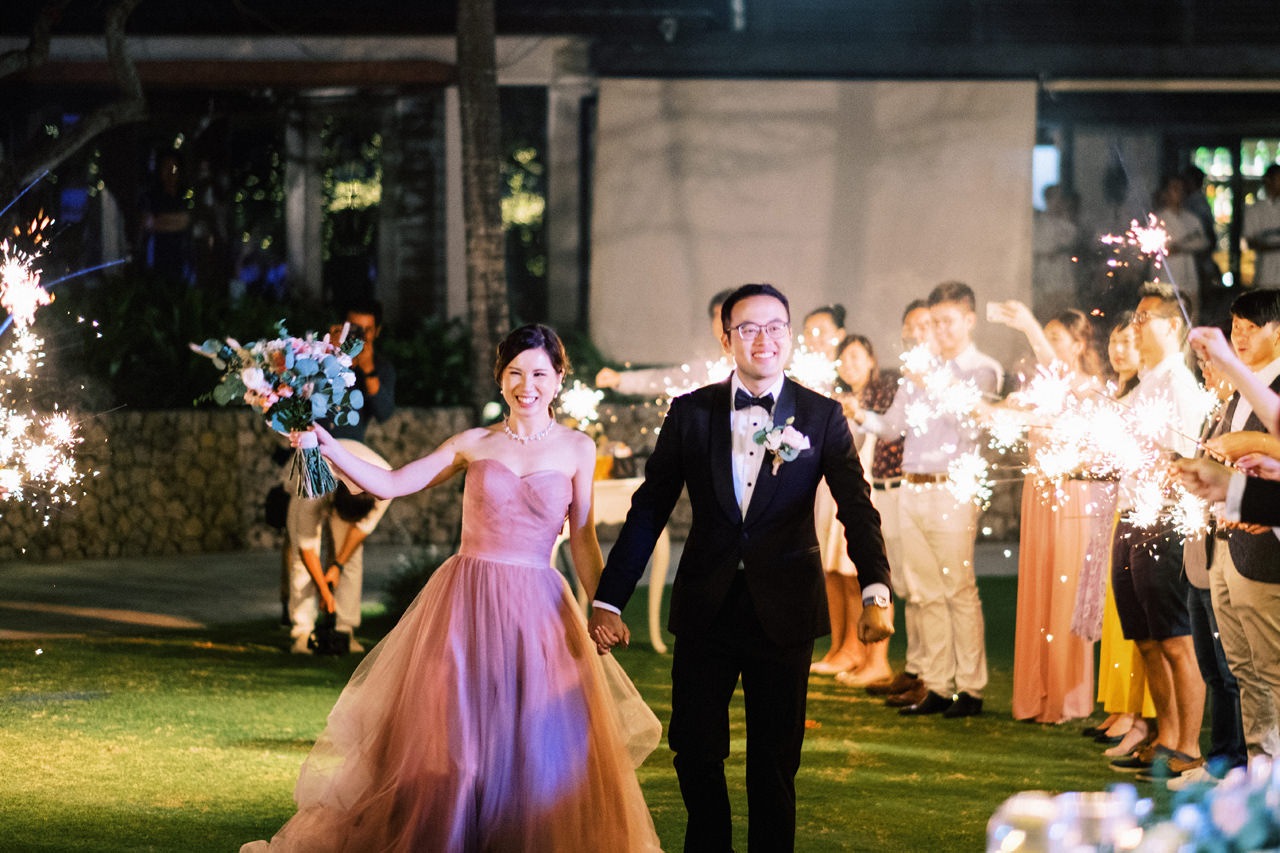 A&M: Light and Airy Wedding at The Ungasan 60