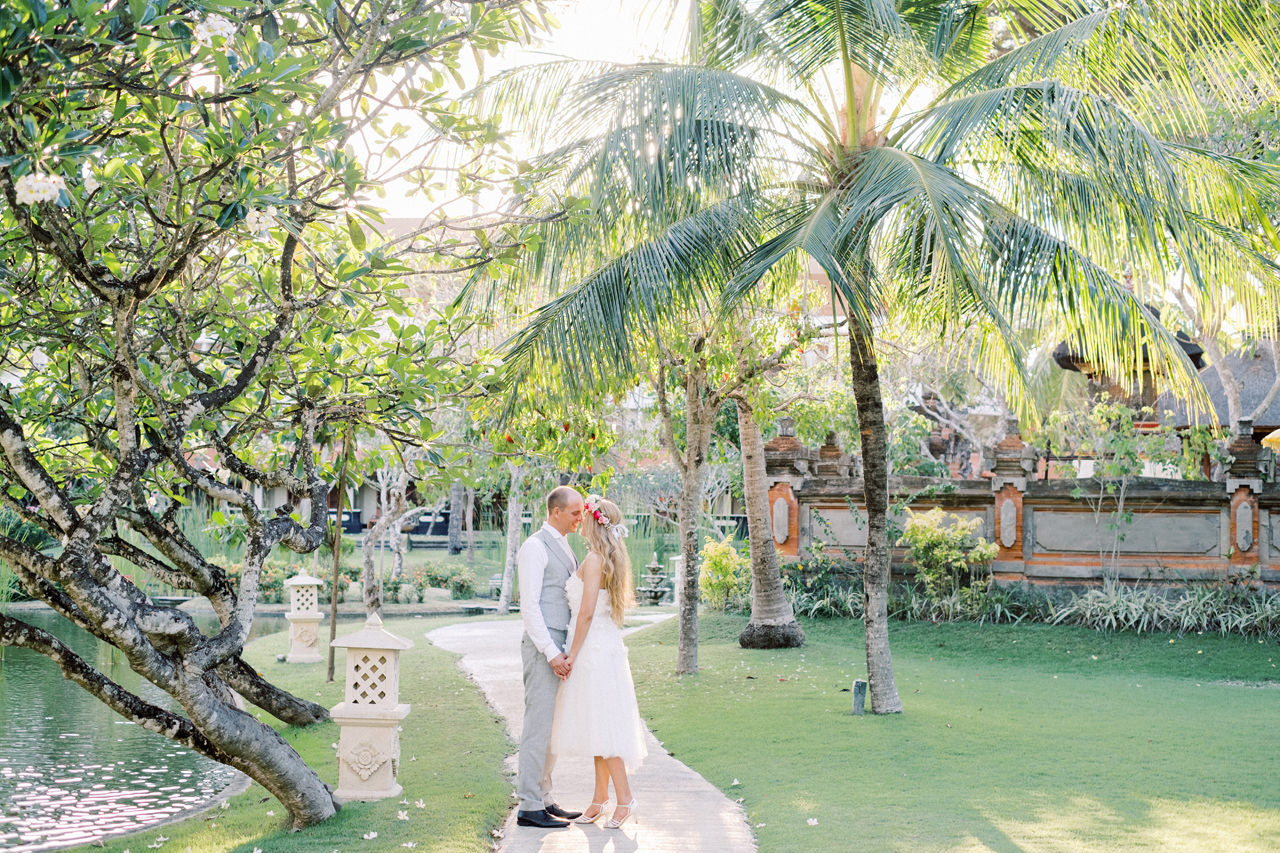 C&M: Nusa Dua Bali Honeymoon Photo Session 12