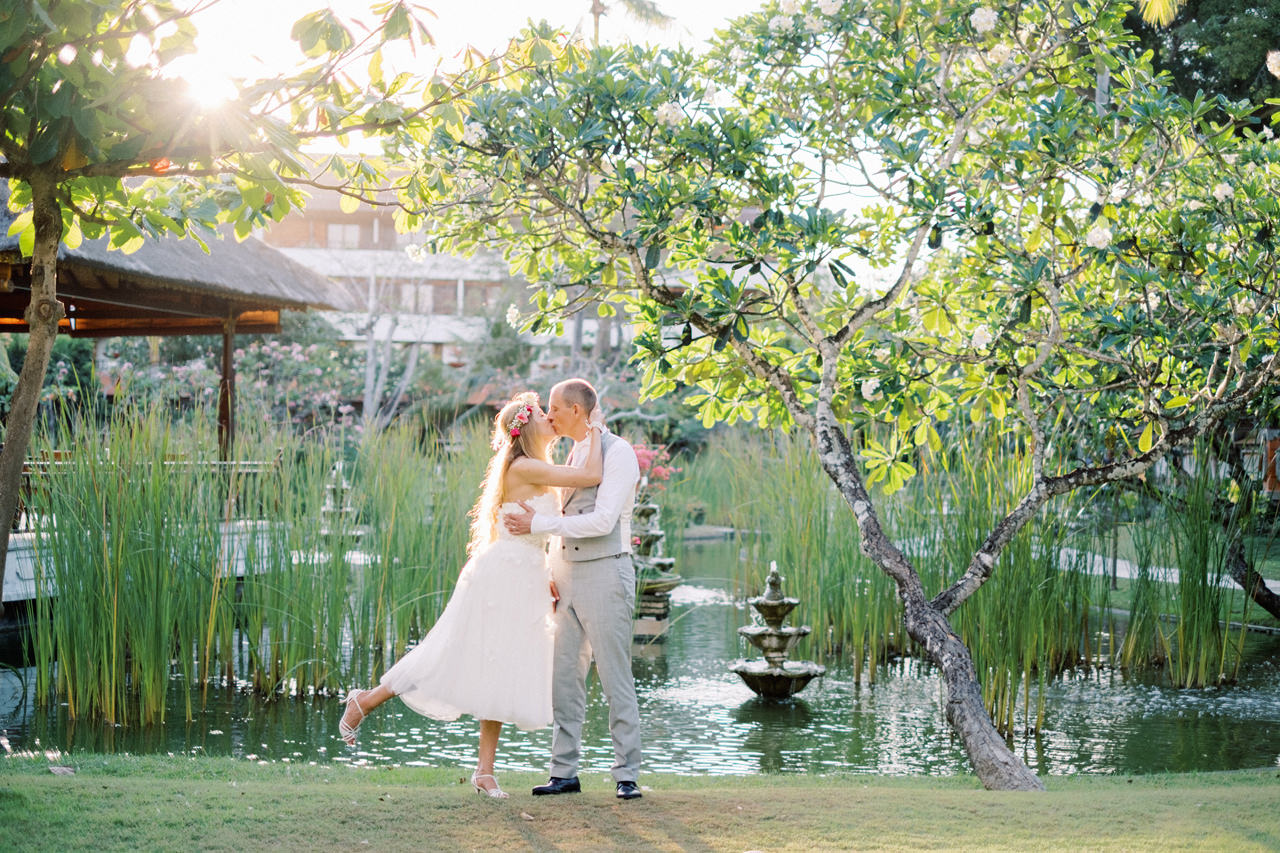 C&M: Nusa Dua Bali Honeymoon Photo Session 13