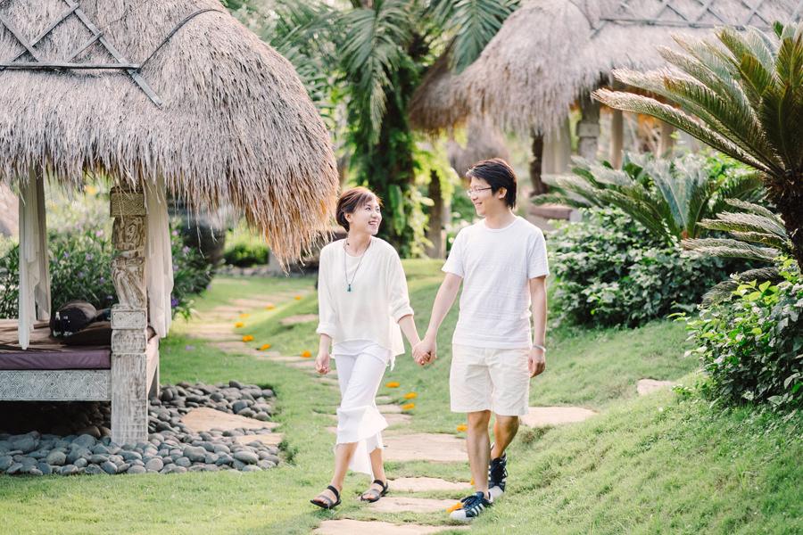 M&K: Intimate Sunset Honeymoon Session in Ubud 3
