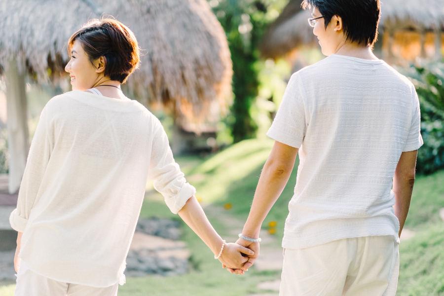M&K: Intimate Sunset Honeymoon Session in Ubud 5