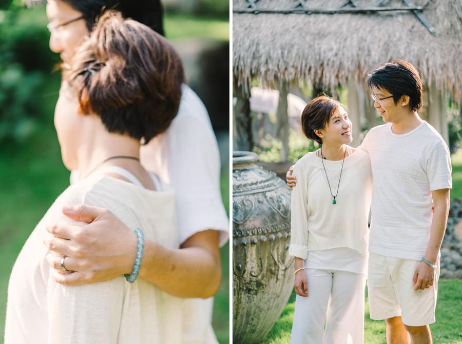 M&K: Intimate Sunset Honeymoon Session in Ubud 6