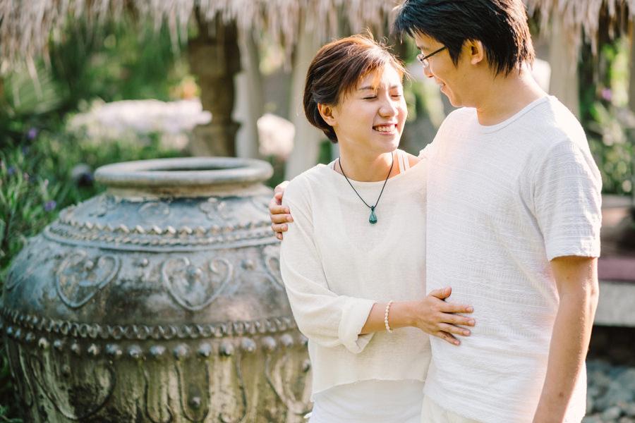 M&K: Intimate Sunset Honeymoon Session in Ubud 8