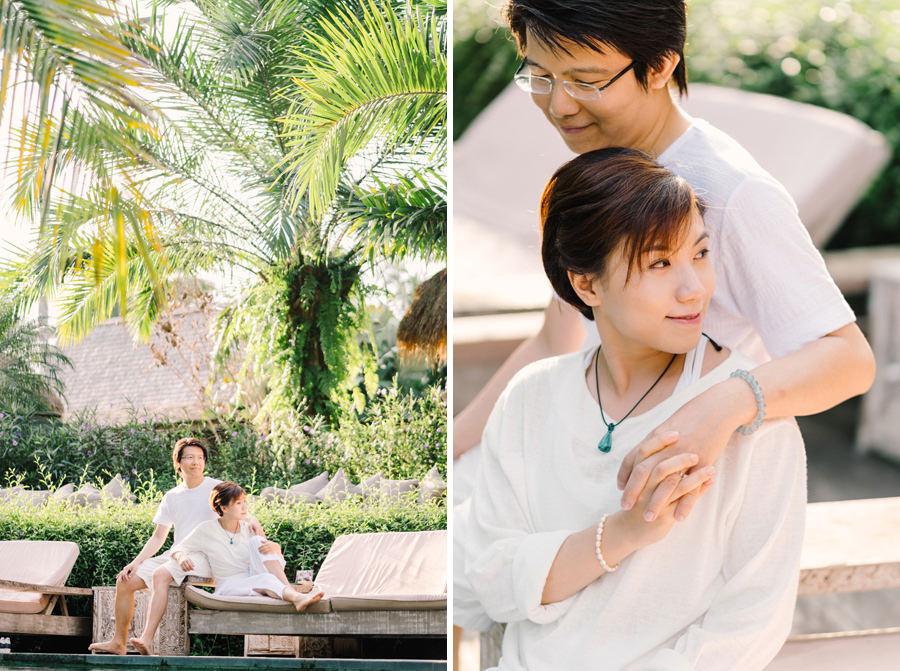 M&K: Intimate Sunset Honeymoon Session in Ubud 9