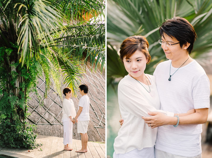 M&K: Intimate Sunset Honeymoon Session in Ubud 10