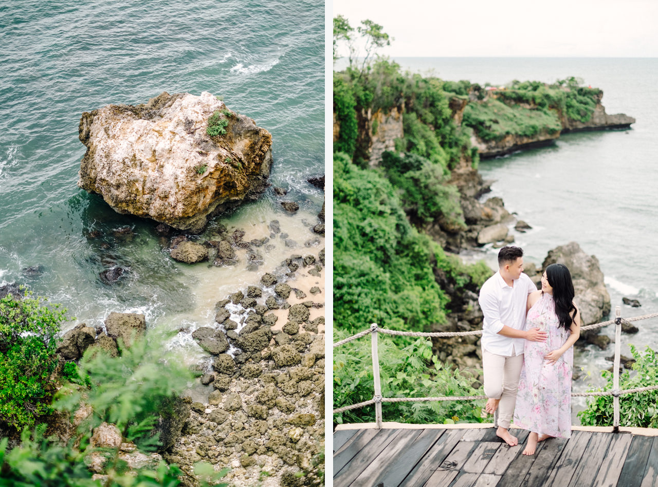 M&N: Romantic Beach Maternity Shoot in Bali 1