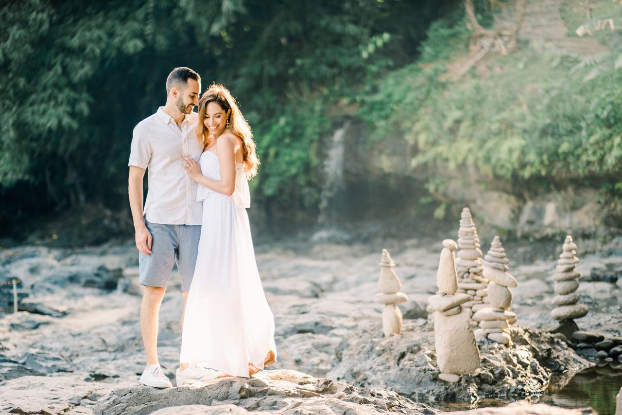 M&N: Intimate Bali Waterfall Photo Session 1