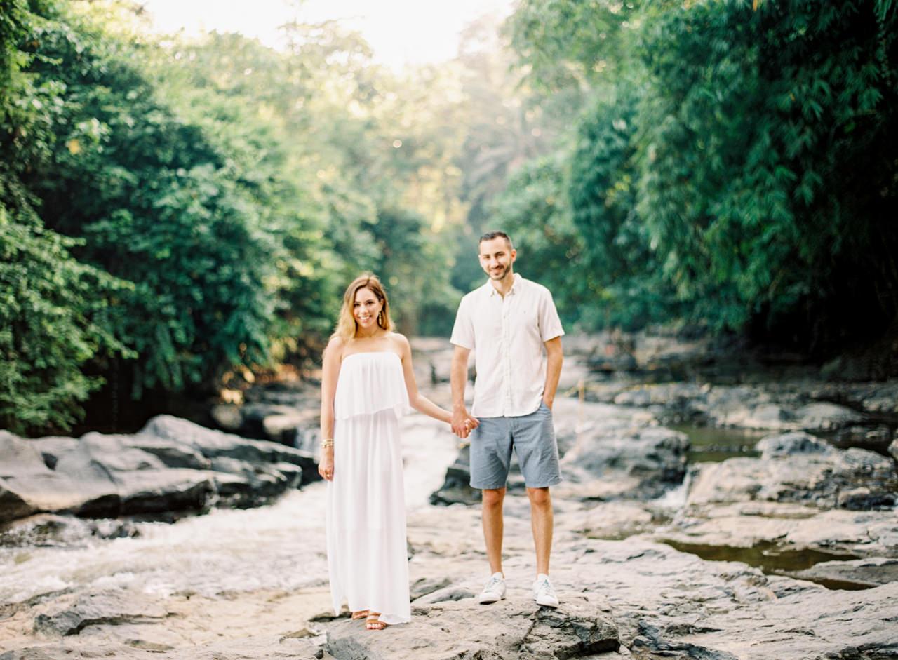 M&N: Intimate Bali Waterfall Photo Session 4