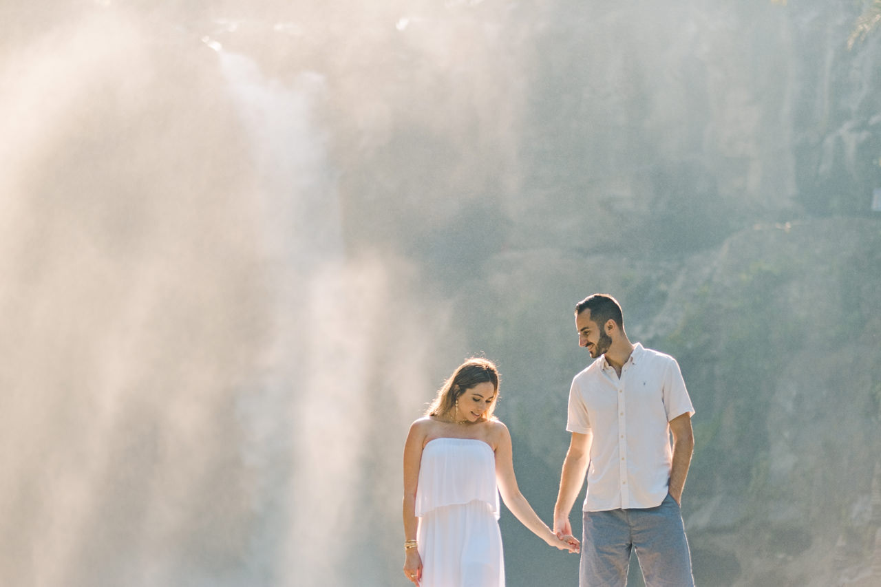 M&N: Intimate Bali Waterfall Photo Session 8