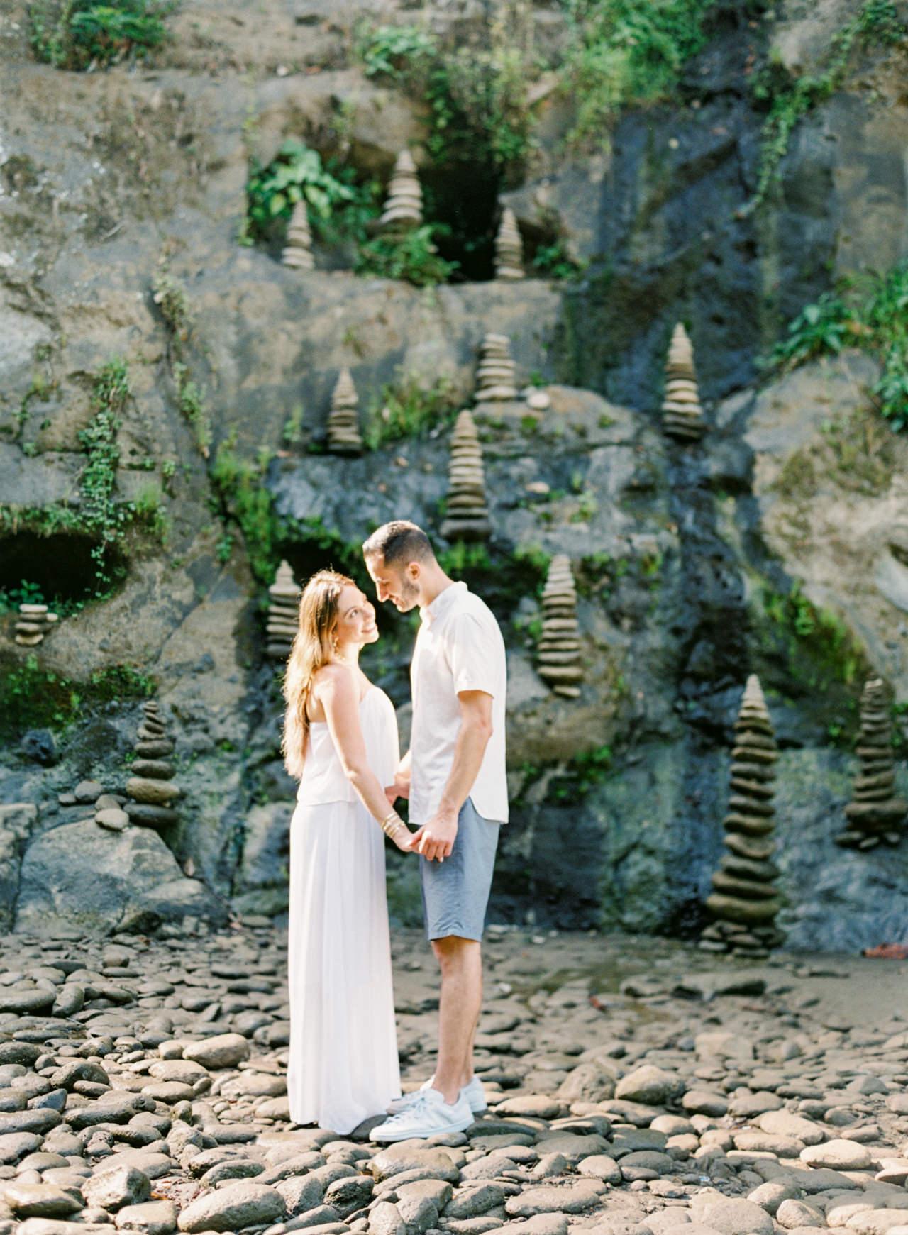 M&N: Intimate Bali Waterfall Photo Session 11