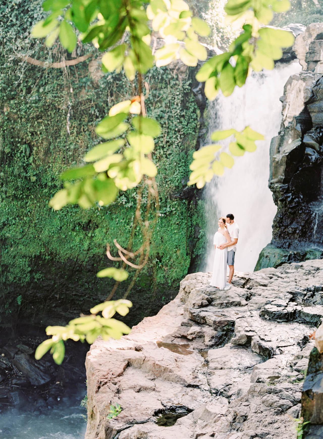 M&N: Intimate Bali Waterfall Photo Session 17