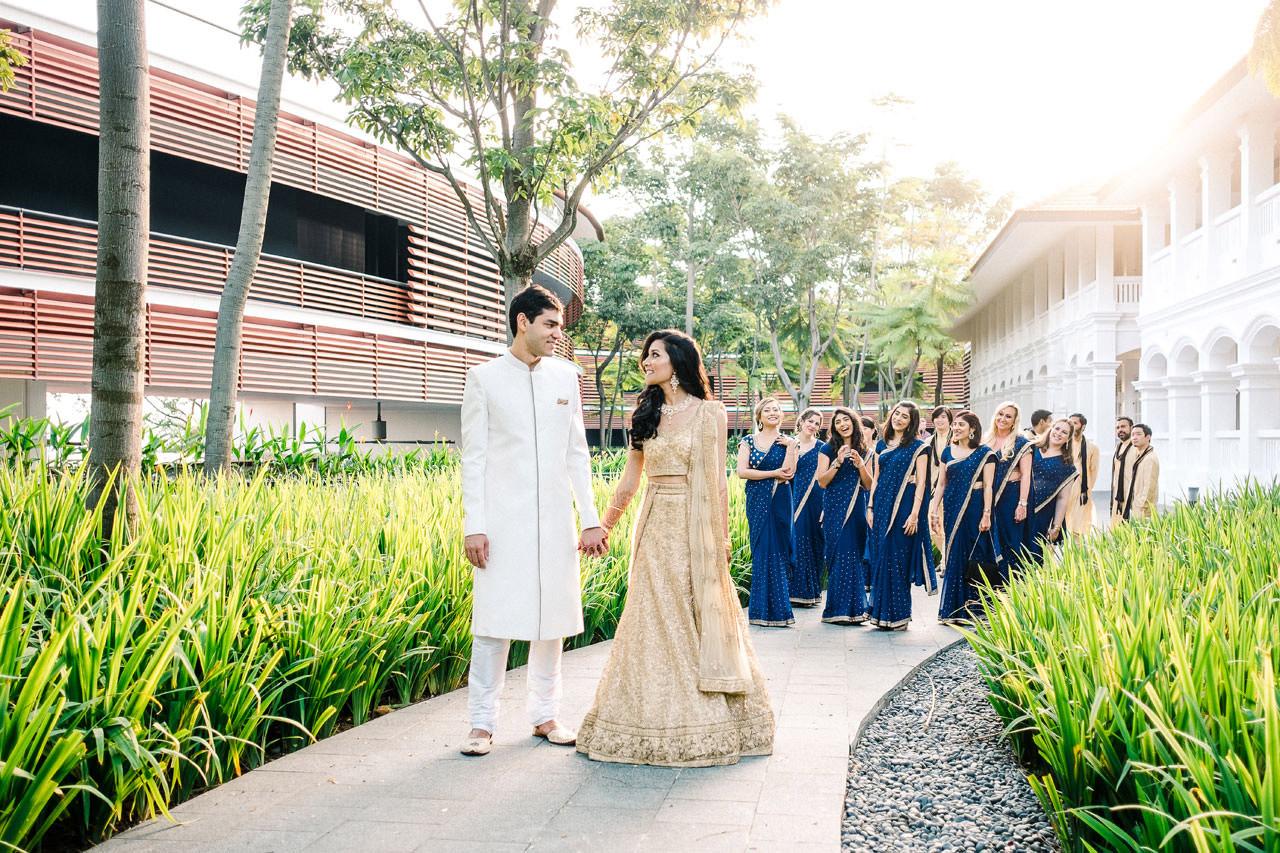 Singapore Indian Wedding at Capella Hotel 9