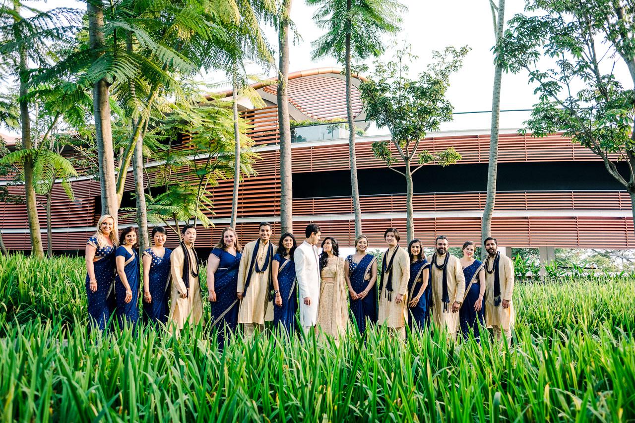 Singapore Indian Wedding at Capella Hotel 10