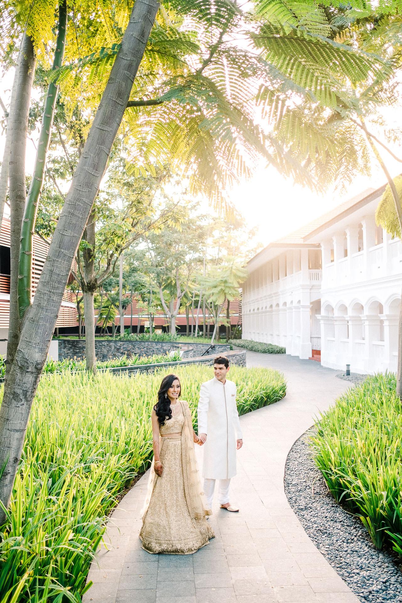 Singapore Indian Wedding at Capella Hotel 12