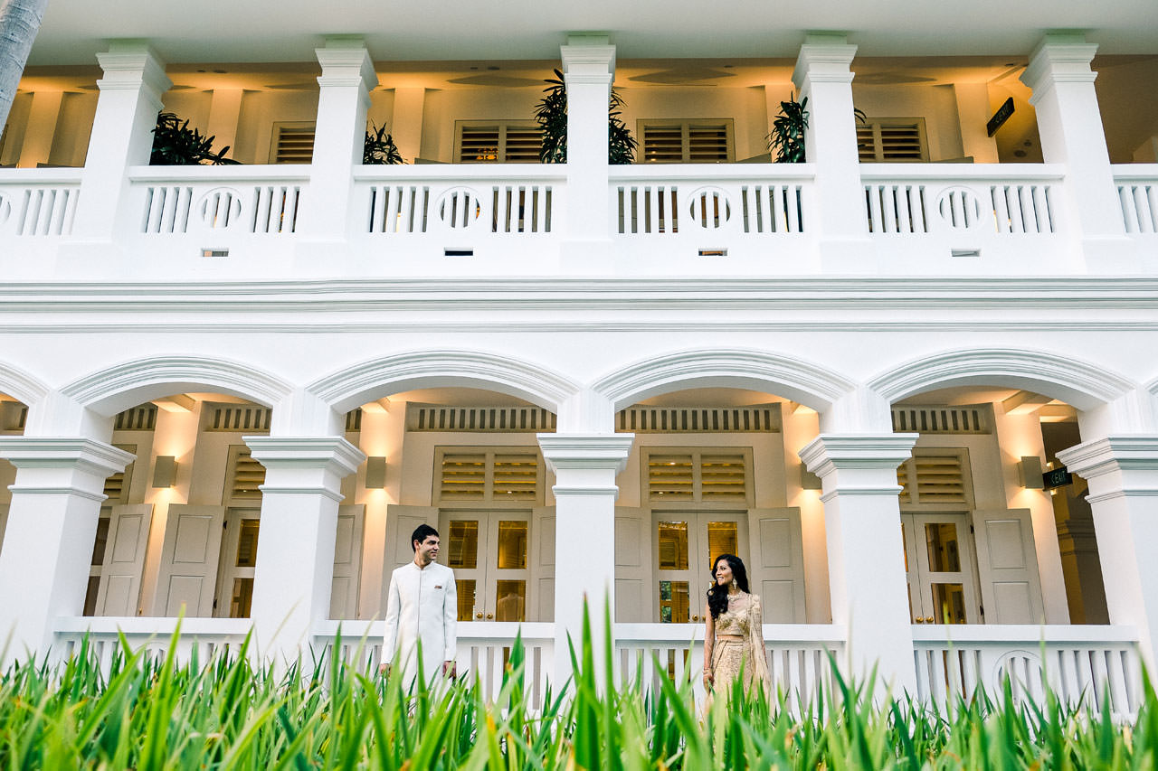 Singapore Indian Wedding at Capella Hotel 13