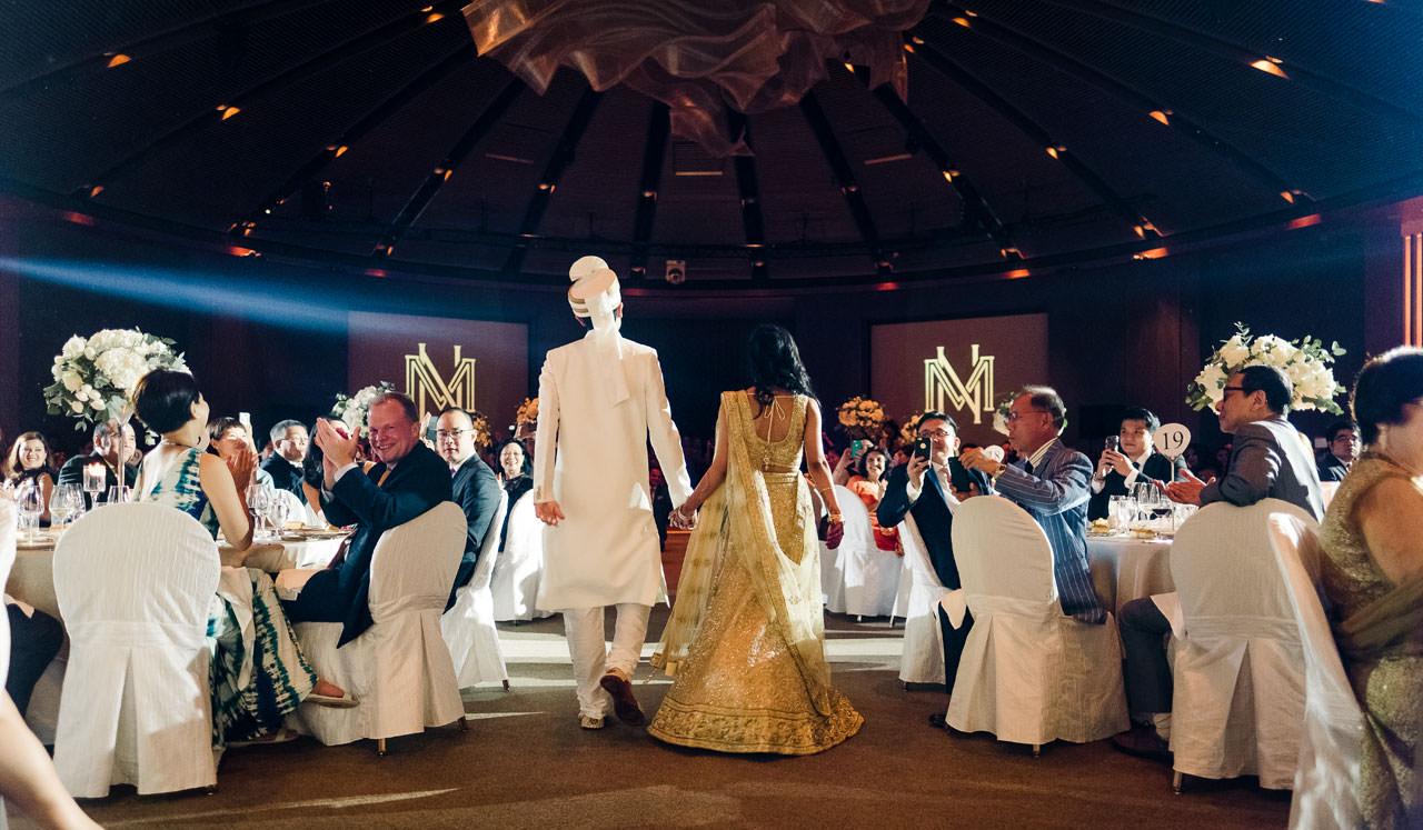 Singapore Indian Wedding at Capella Hotel 18