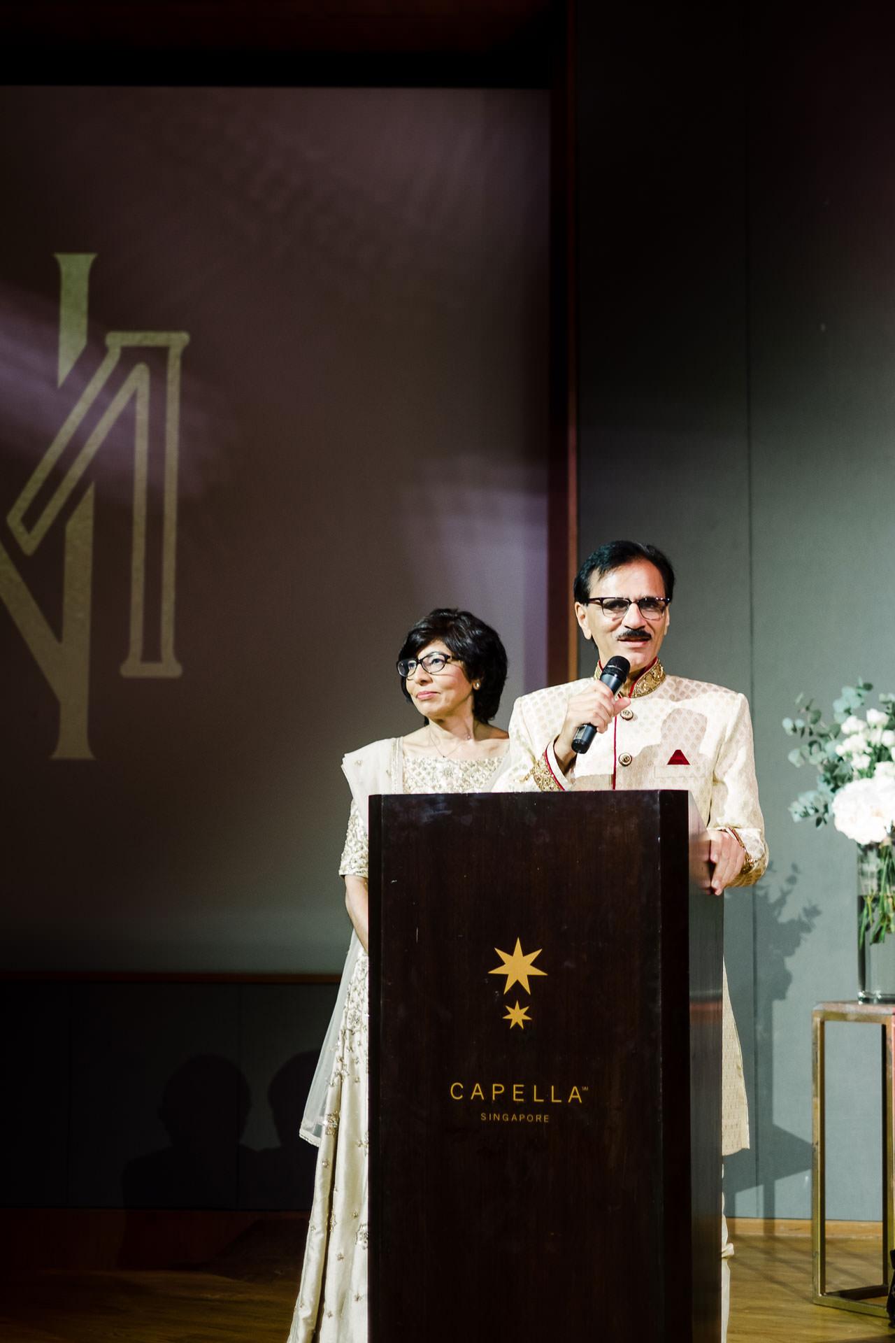 Singapore Indian Wedding at Capella Hotel 22