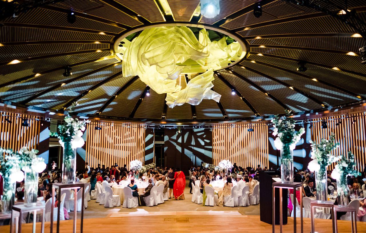 Singapore Indian Wedding at Capella Hotel 24