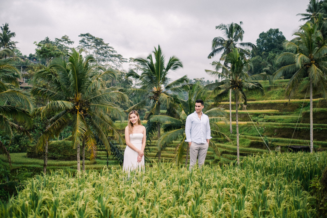 Ubud Photographer | Michelle and Peter's Engagement Session 1