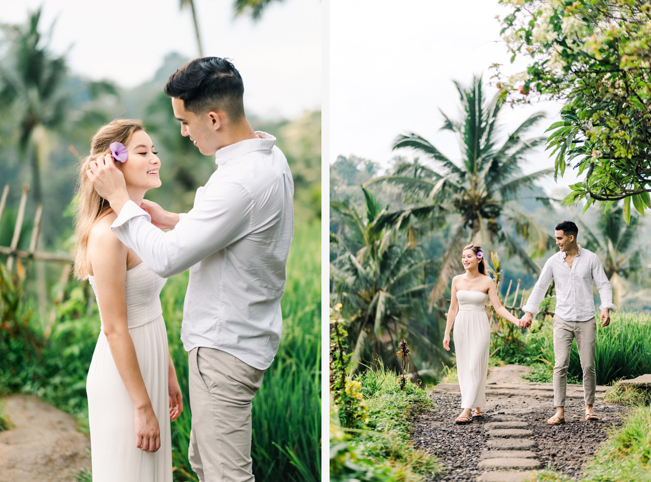 Ubud Photographer | Michelle and Peter's Engagement Session 4
