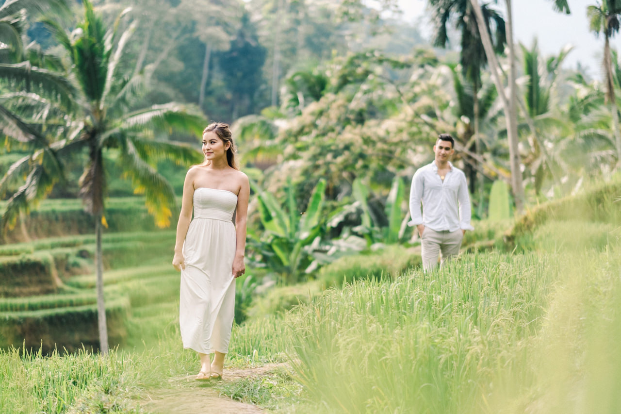 Ubud Photographer | Michelle and Peter's Engagement Session 10