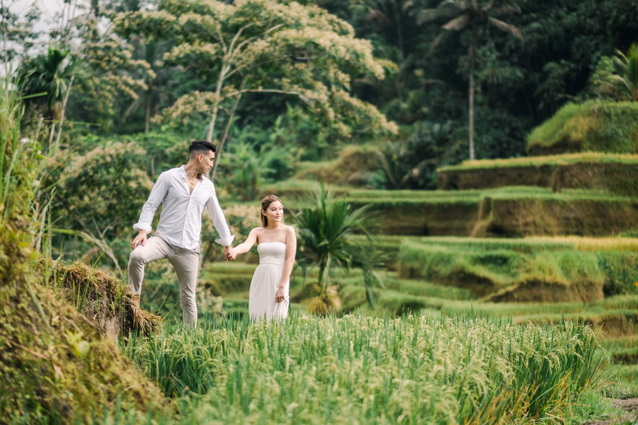 Ubud Photographer | Michelle and Peter's Engagement Session 11