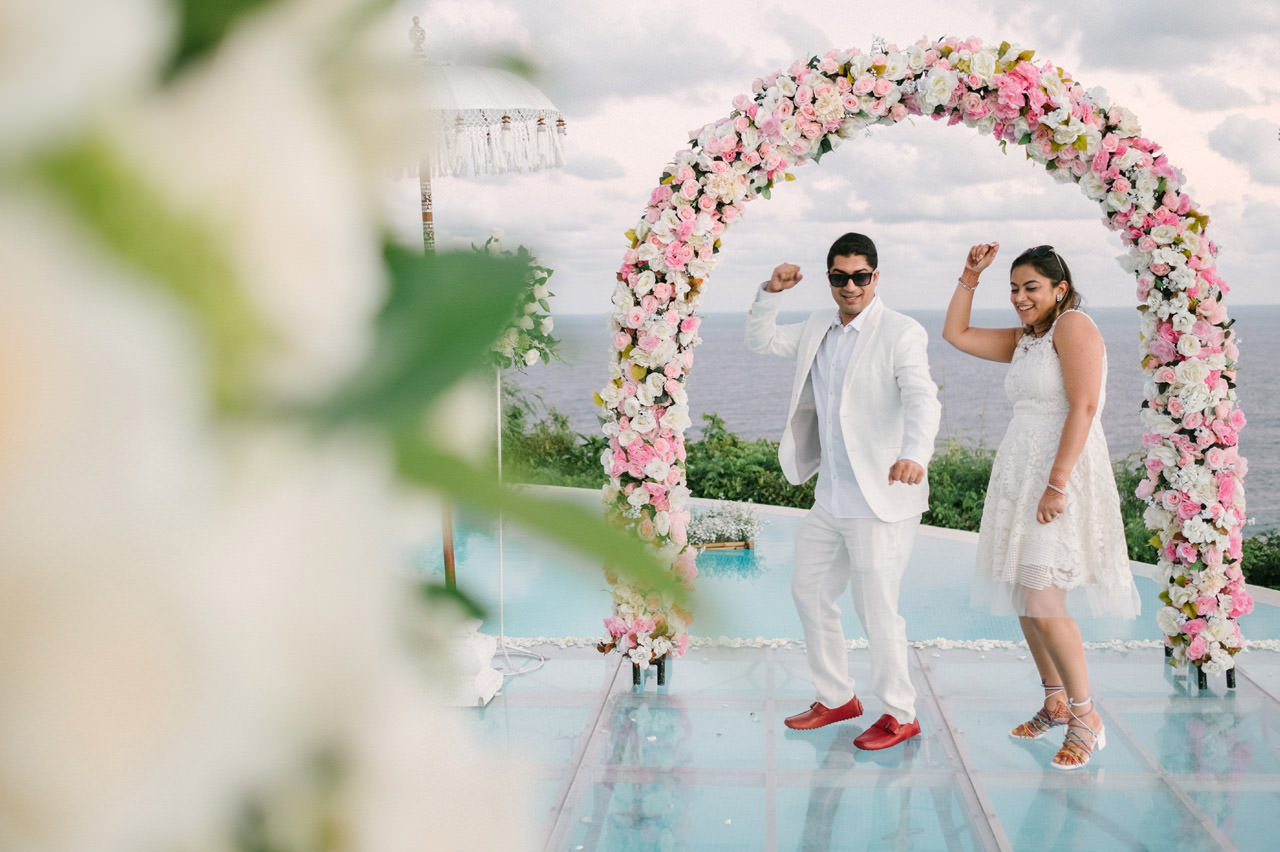 Bali Beach Wedding Photography at Karma Kandara Beach 7