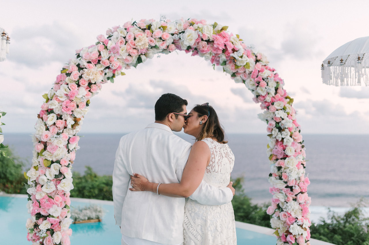 Bali Beach Wedding Photography at Karma Kandara Beach 8