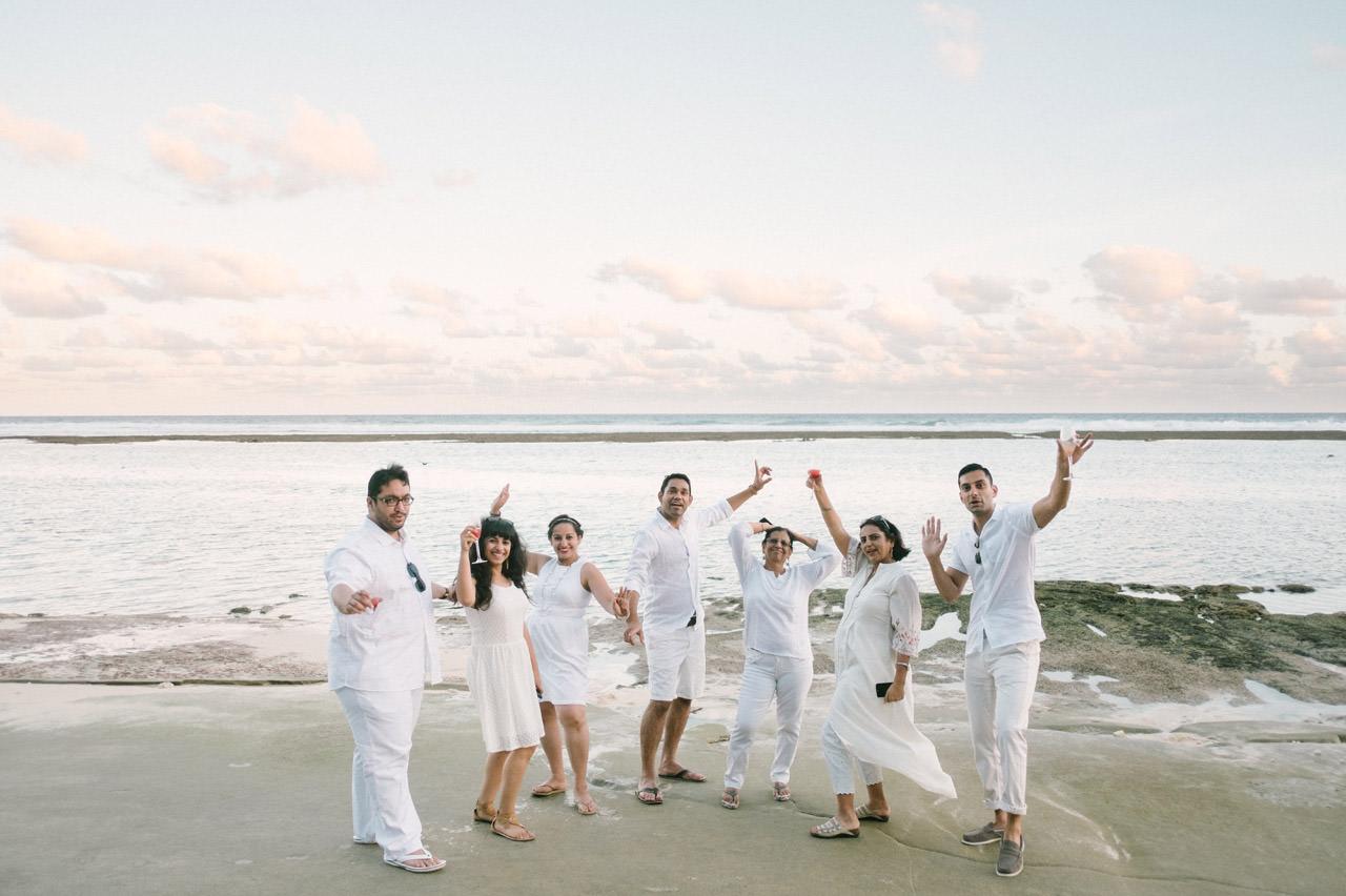 Bali Beach Wedding Photography at Karma Kandara Beach 12