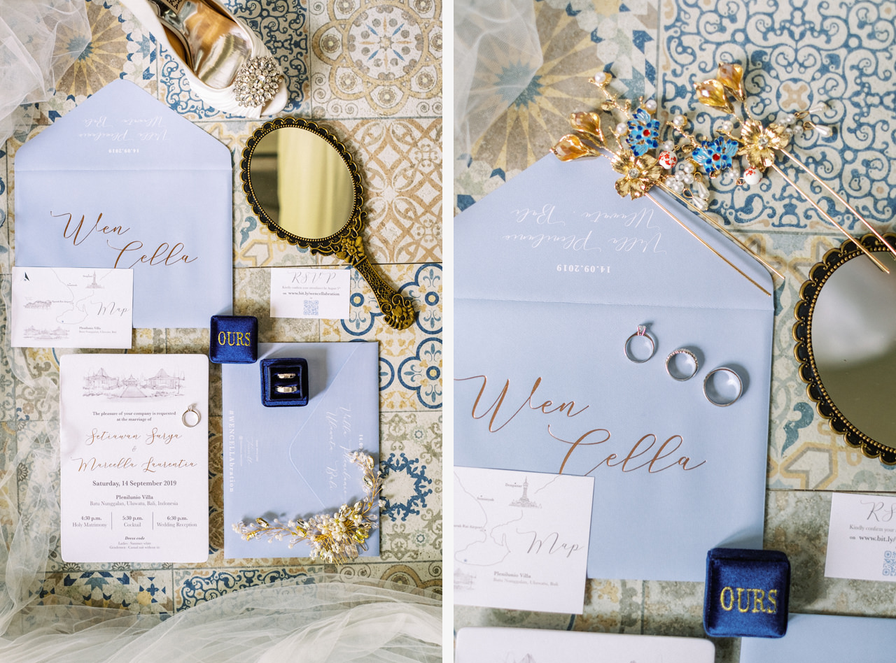 M&S: Shades of Blue Villa Plenilunio Bali Wedding 3