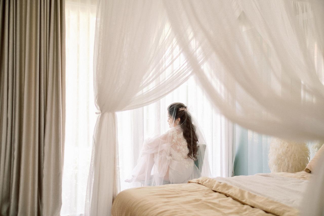M&S: Shades of Blue Villa Plenilunio Bali Wedding 13