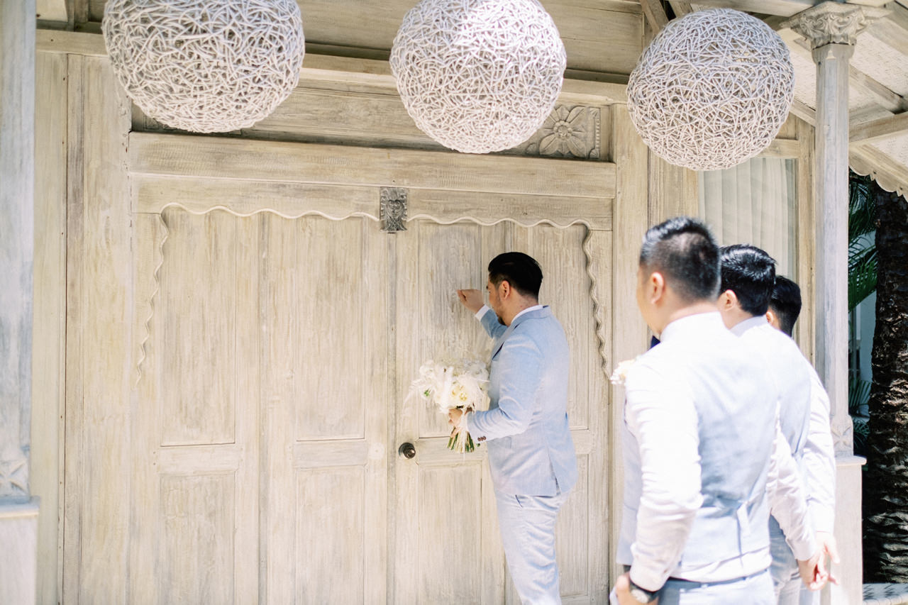 M&S: Shades of Blue Villa Plenilunio Bali Wedding 22