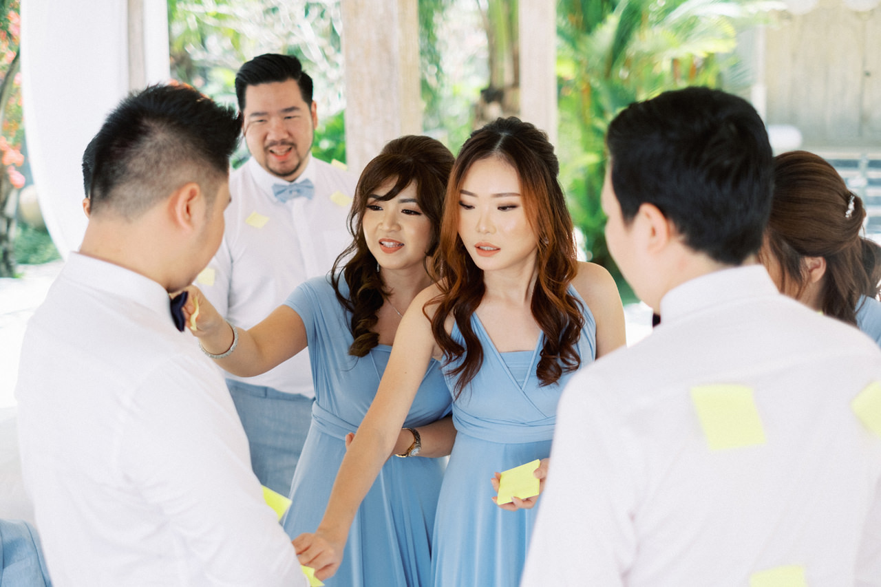 M&S: Shades of Blue Villa Plenilunio Bali Wedding 24