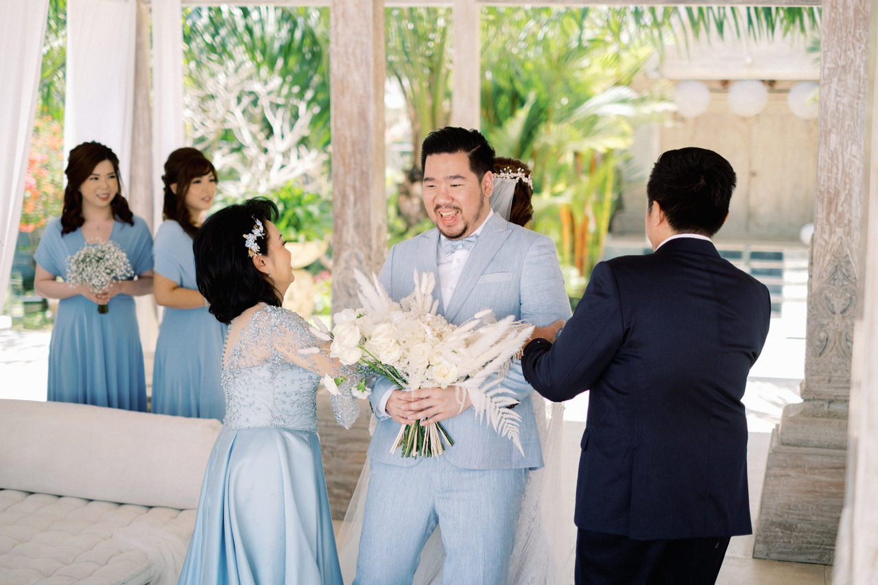 M&S: Shades of Blue Villa Plenilunio Bali Wedding 26