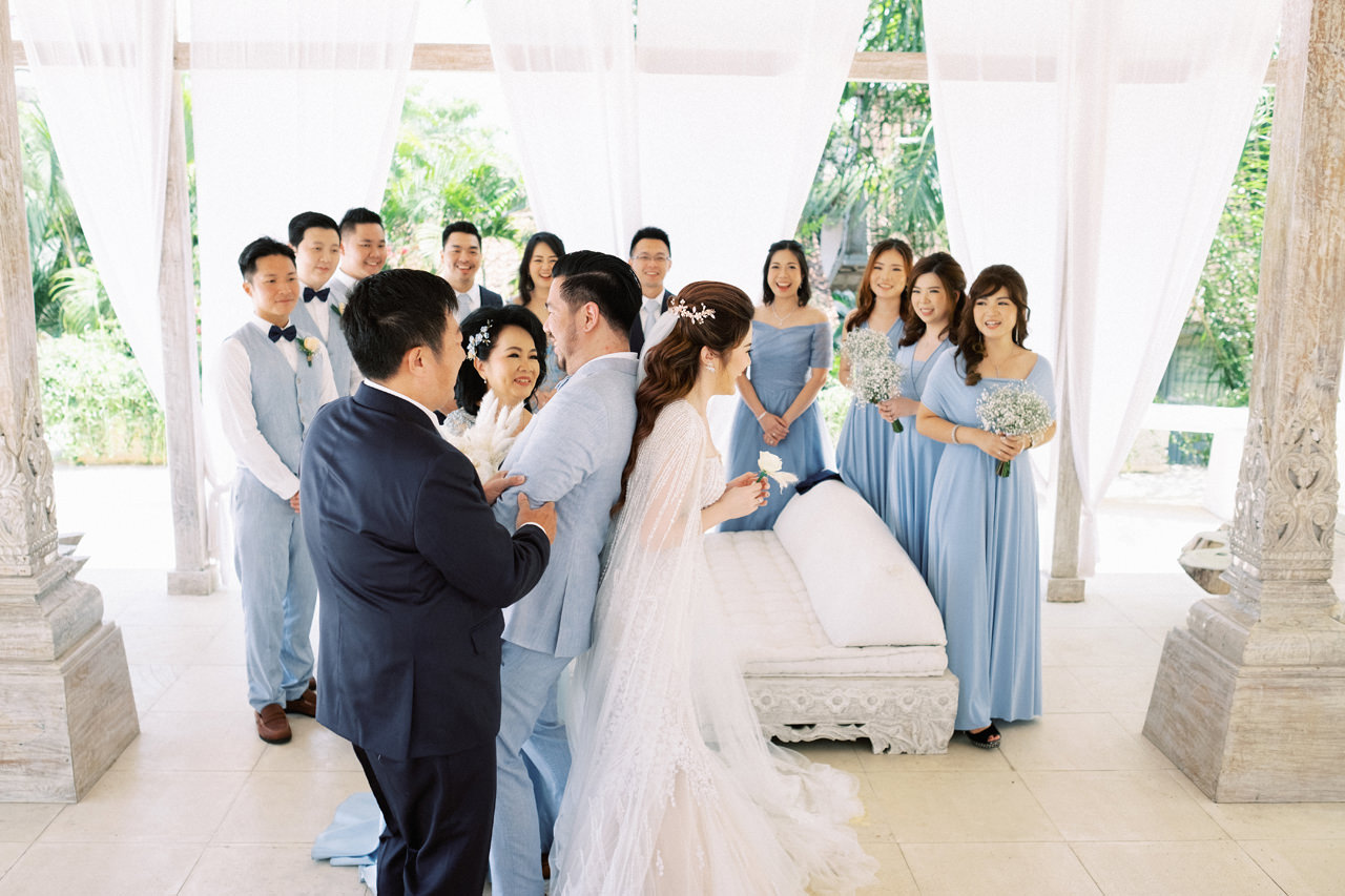 M&S: Shades of Blue Villa Plenilunio Bali Wedding 27