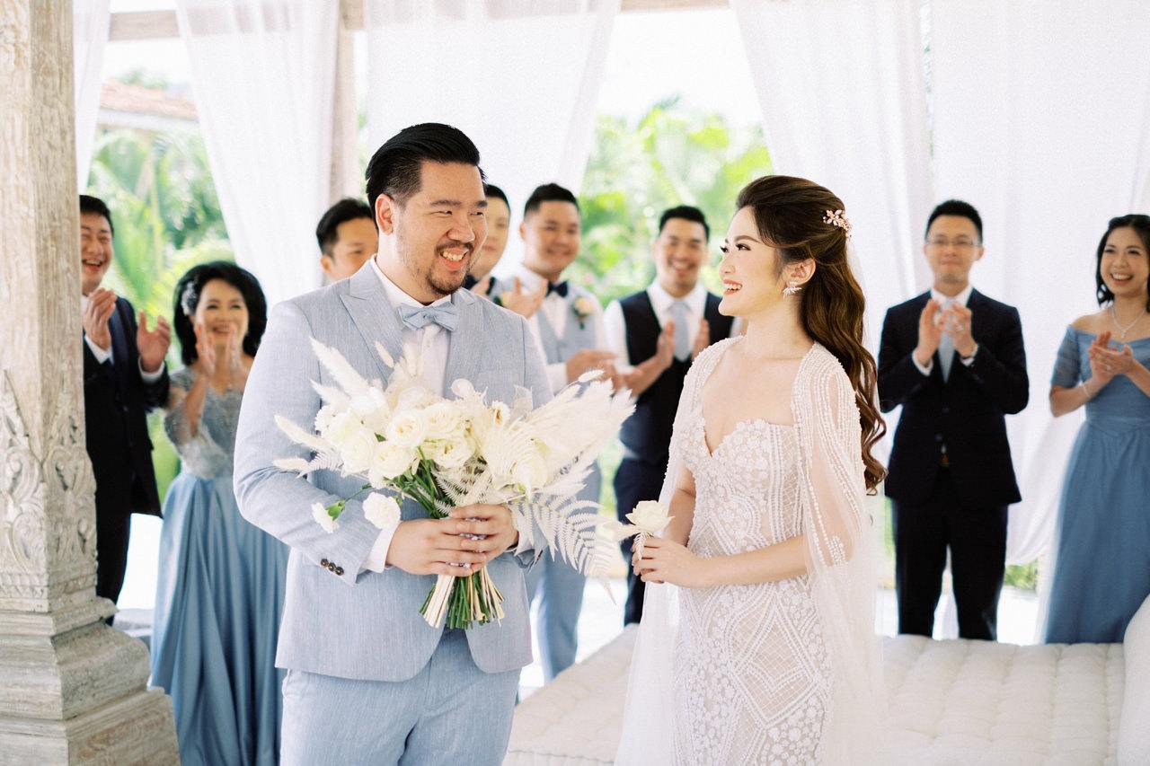 M&S: Shades of Blue Villa Plenilunio Bali Wedding 28