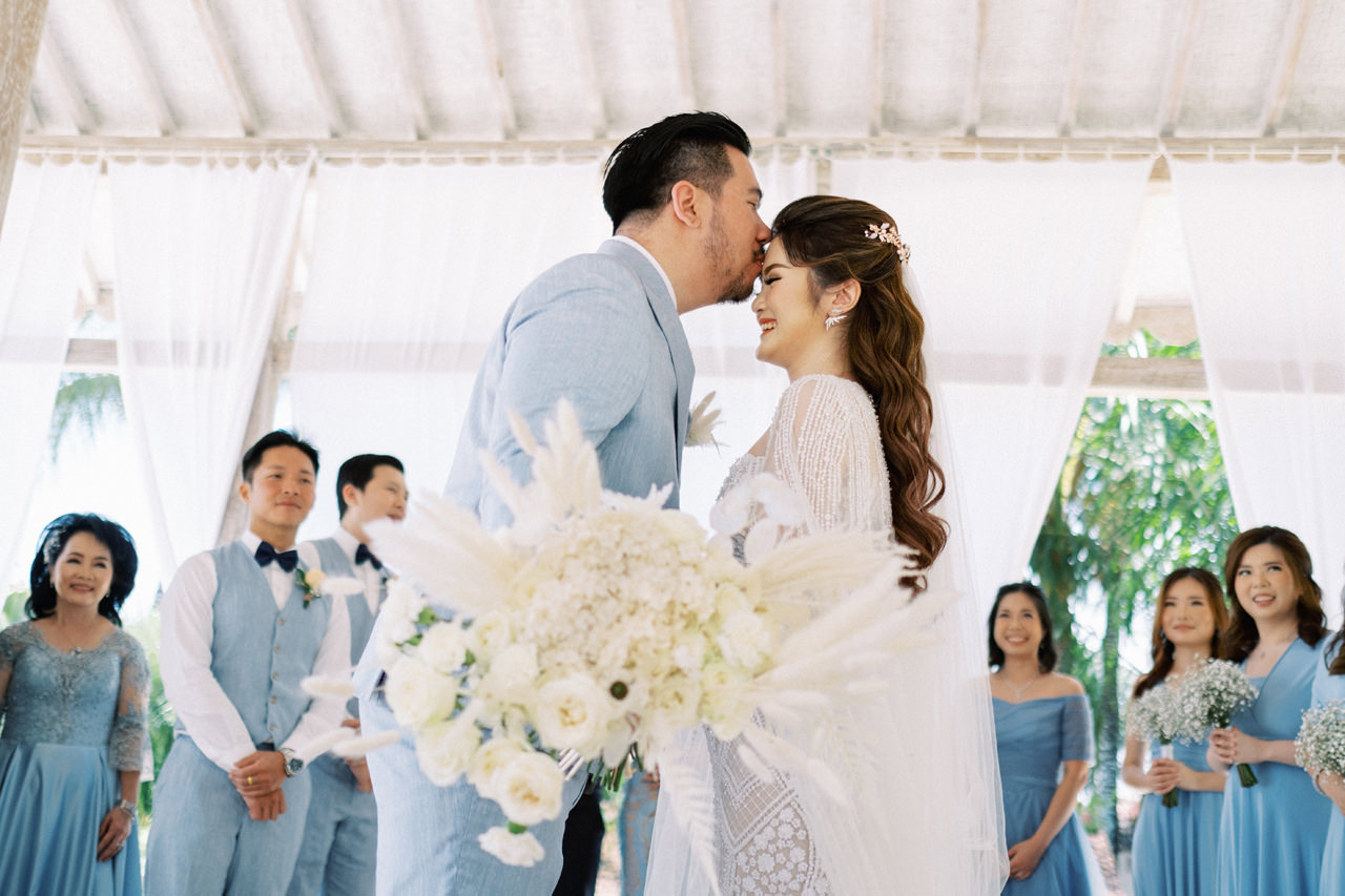 M&S: Shades of Blue Villa Plenilunio Bali Wedding 33