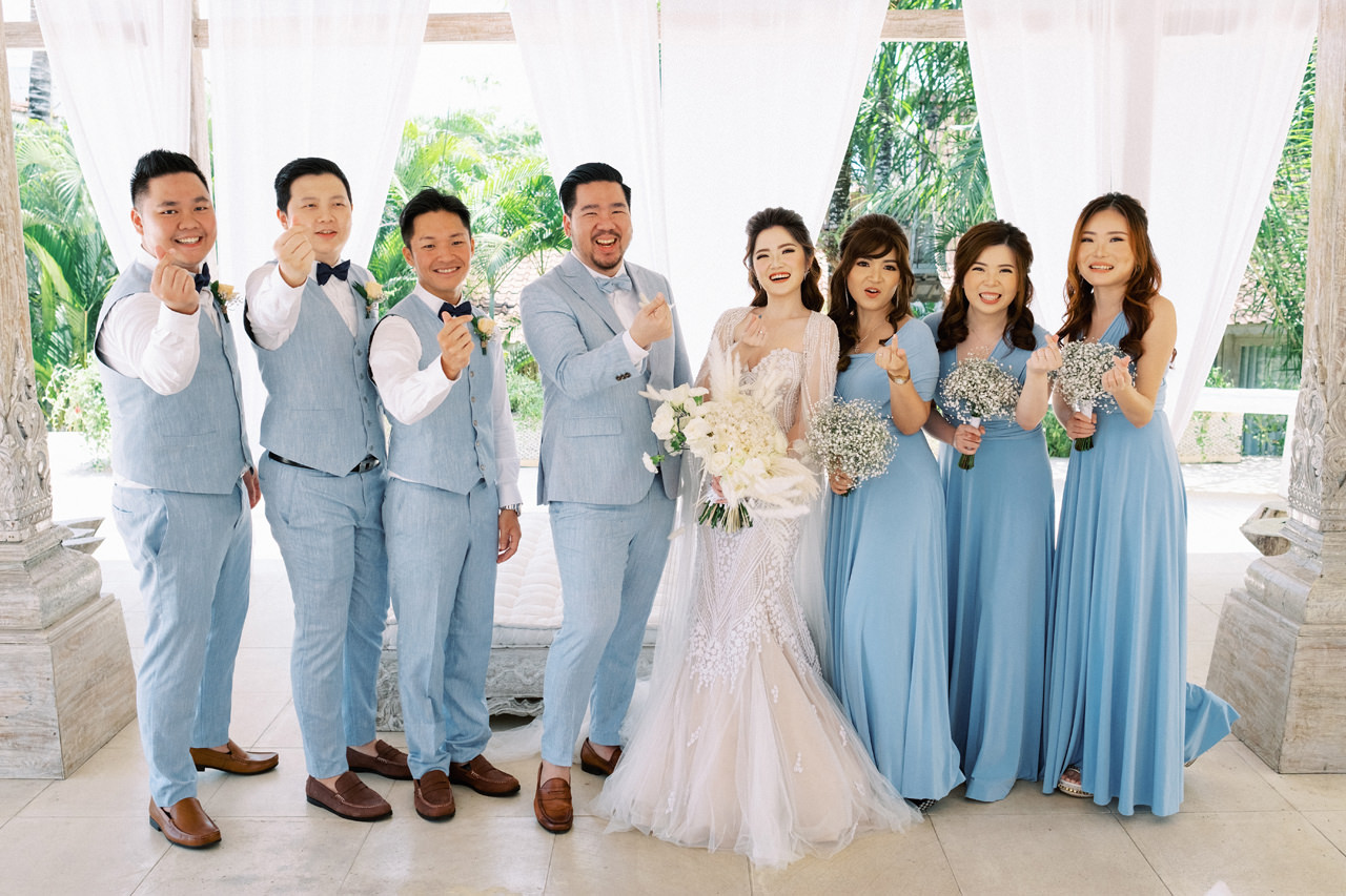 M&S: Shades of Blue Villa Plenilunio Bali Wedding 34