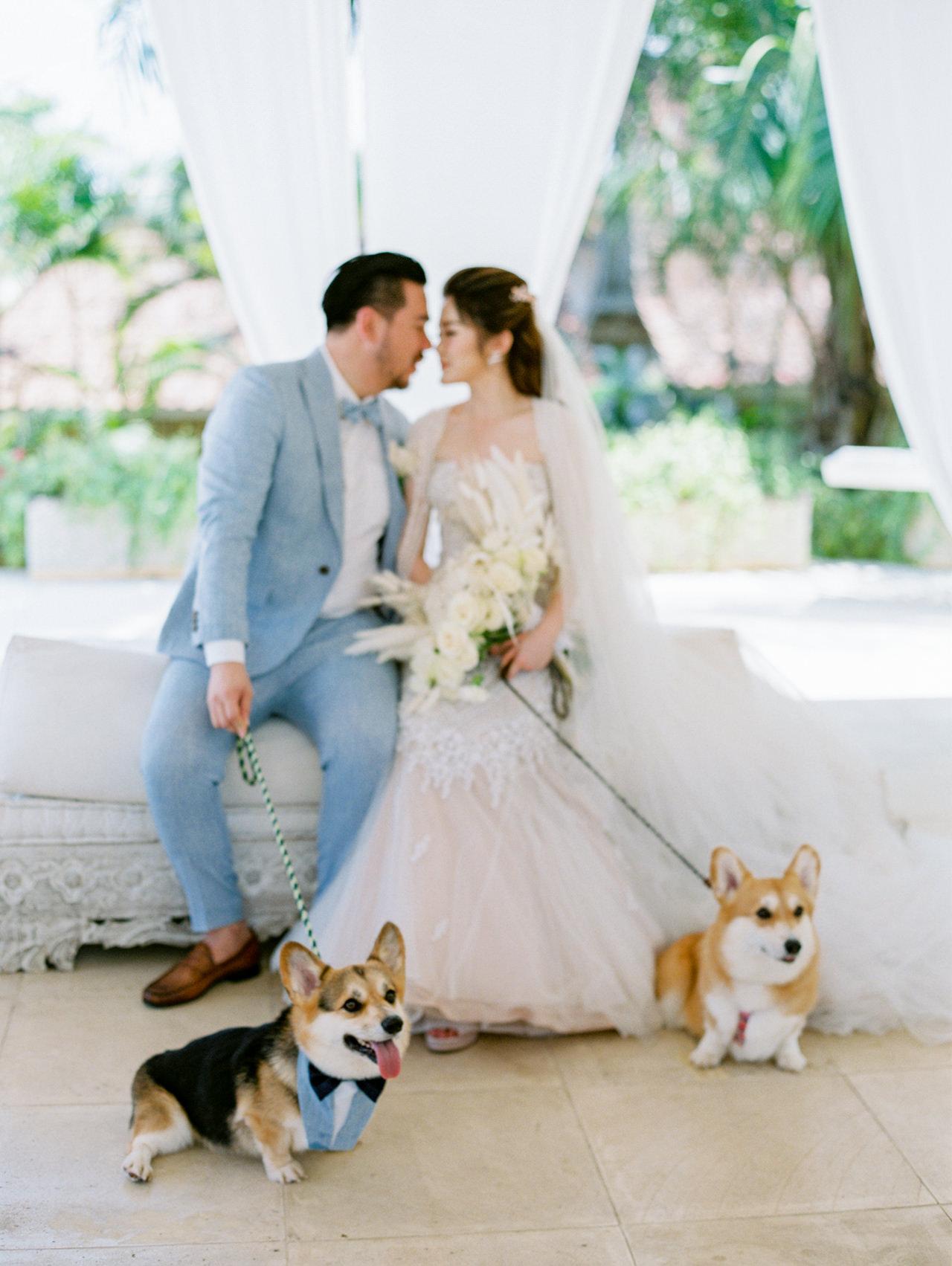 M&S: Shades of Blue Villa Plenilunio Bali Wedding 35