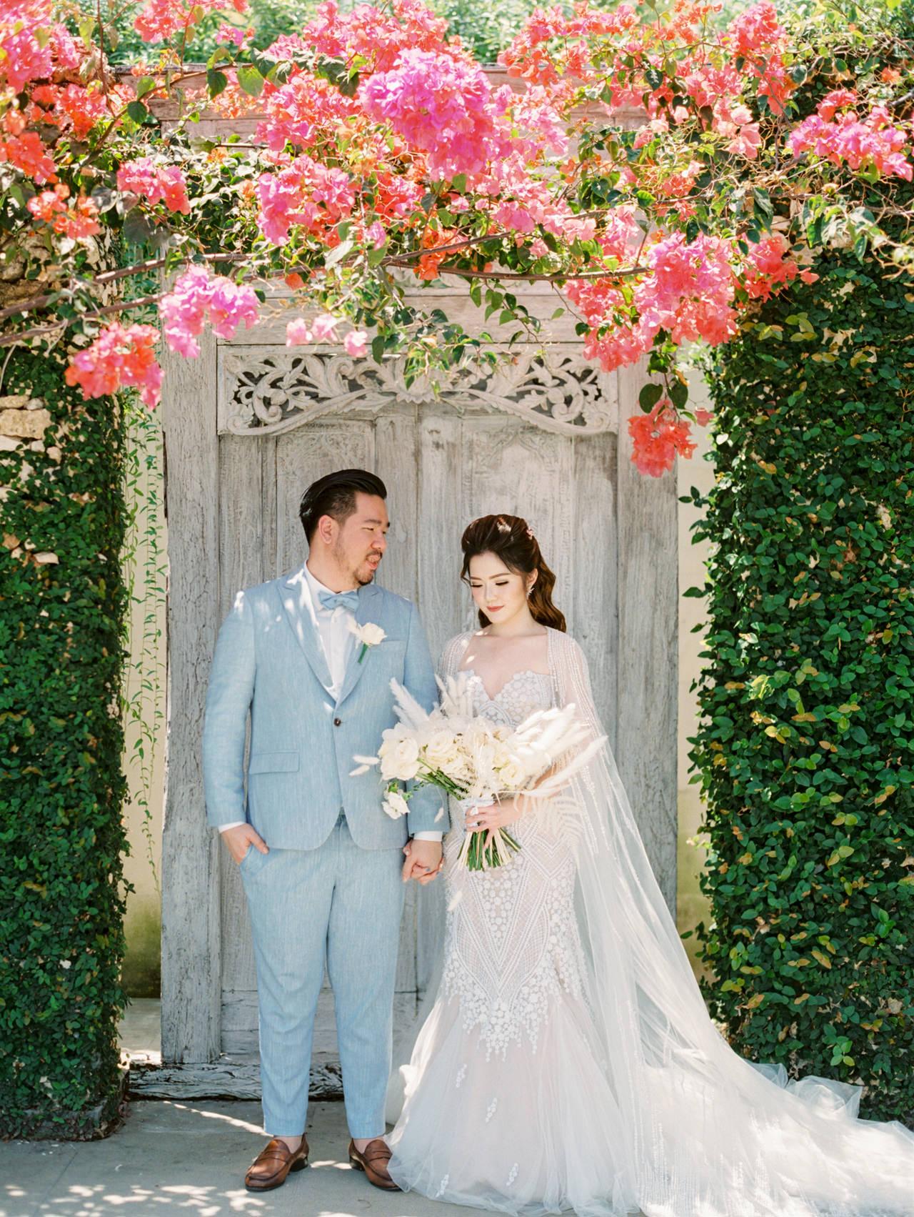 M&S: Shades of Blue Villa Plenilunio Bali Wedding 36