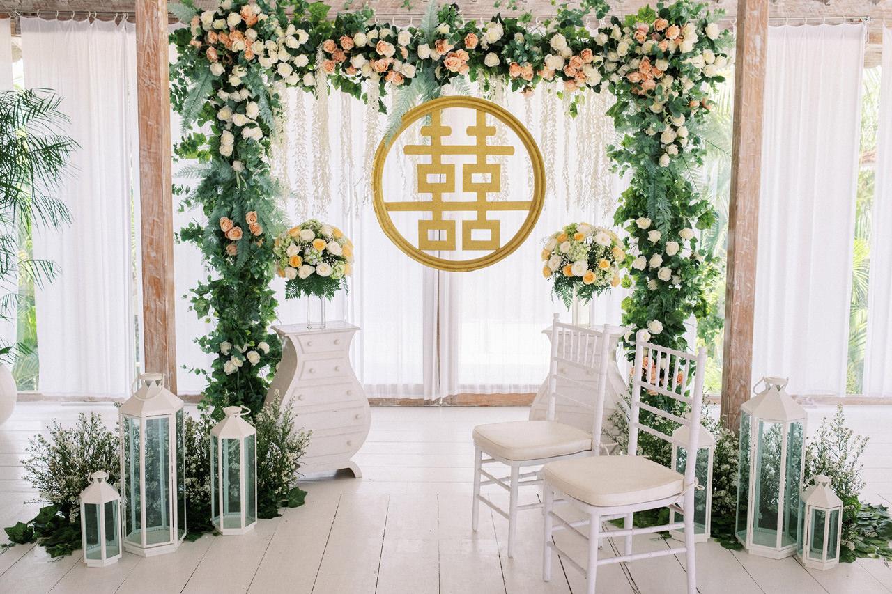 M&S: Shades of Blue Villa Plenilunio Bali Wedding 45