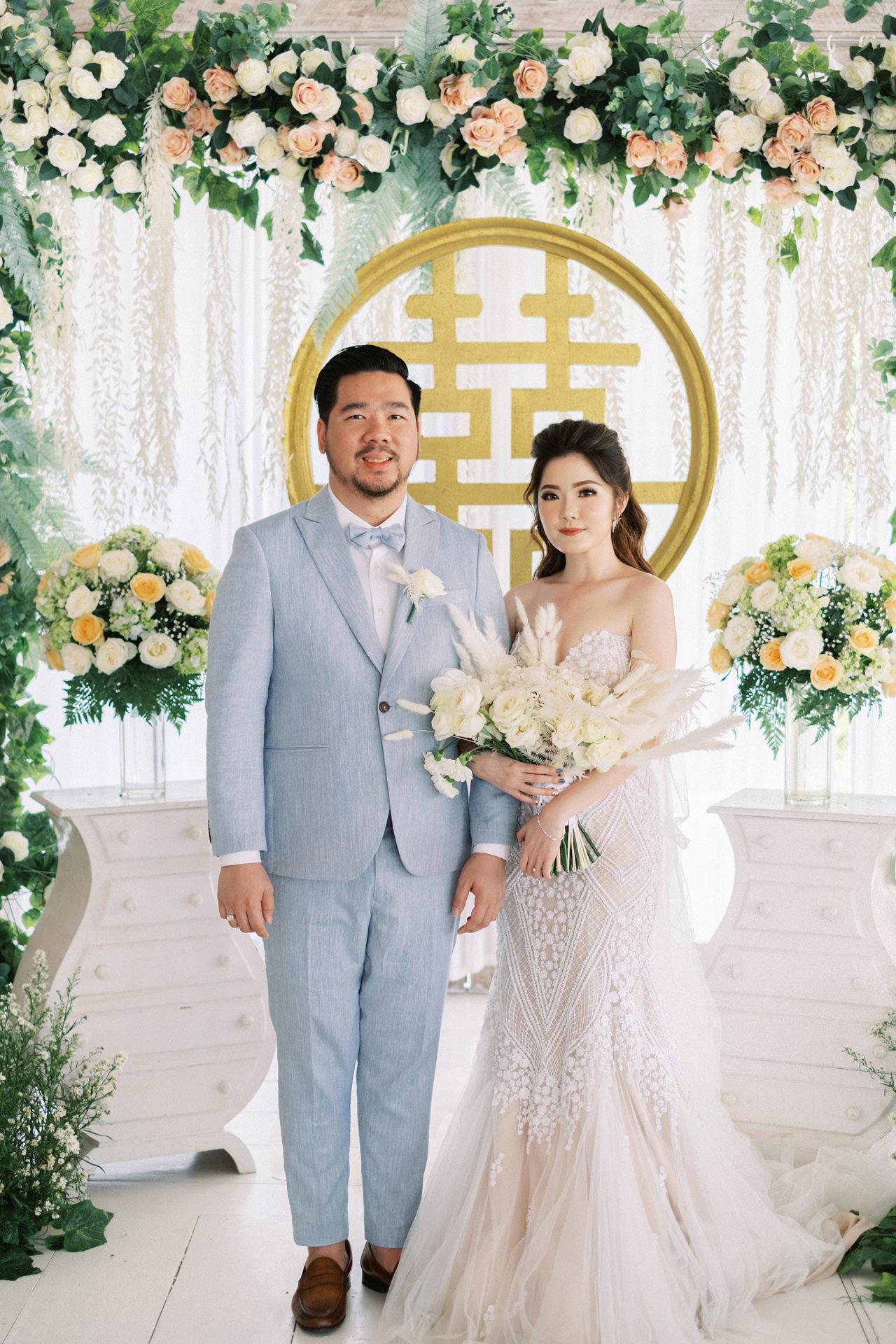 M&S: Shades of Blue Villa Plenilunio Bali Wedding 48
