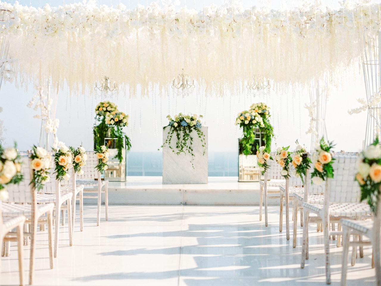 M&S: Shades of Blue Villa Plenilunio Bali Wedding 50
