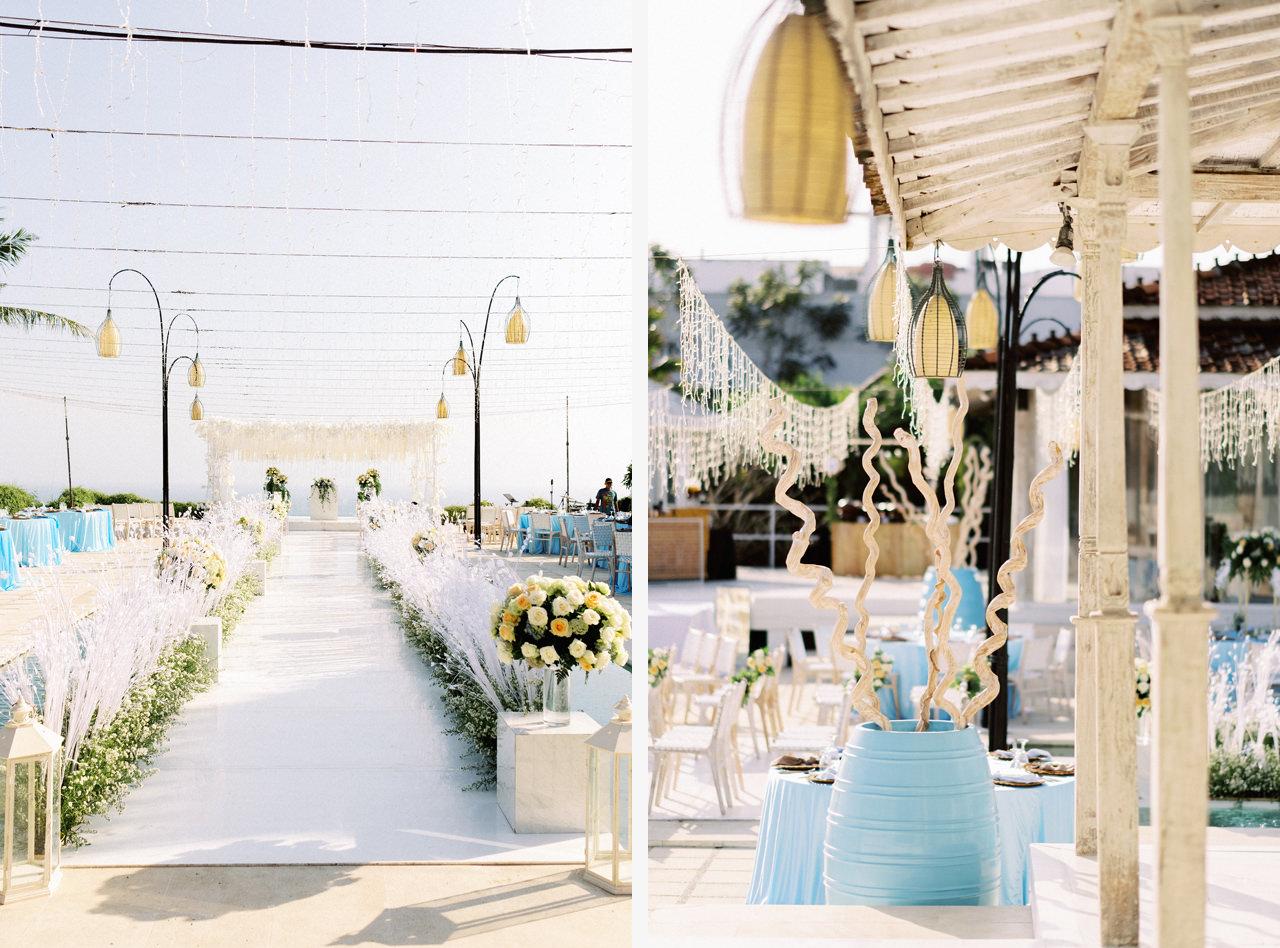 M&S: Shades of Blue Villa Plenilunio Bali Wedding 54
