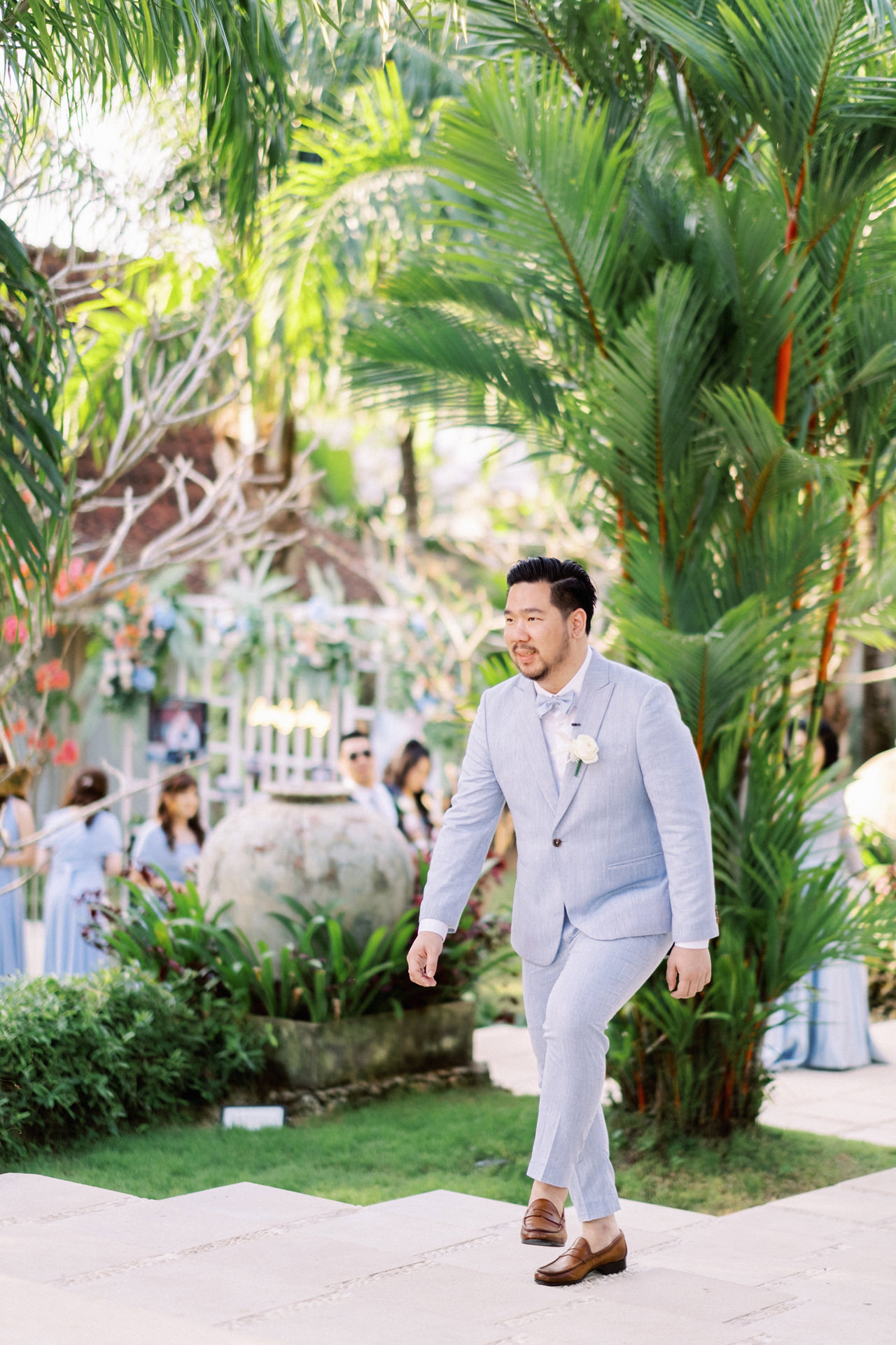M&S: Shades of Blue Villa Plenilunio Bali Wedding 57